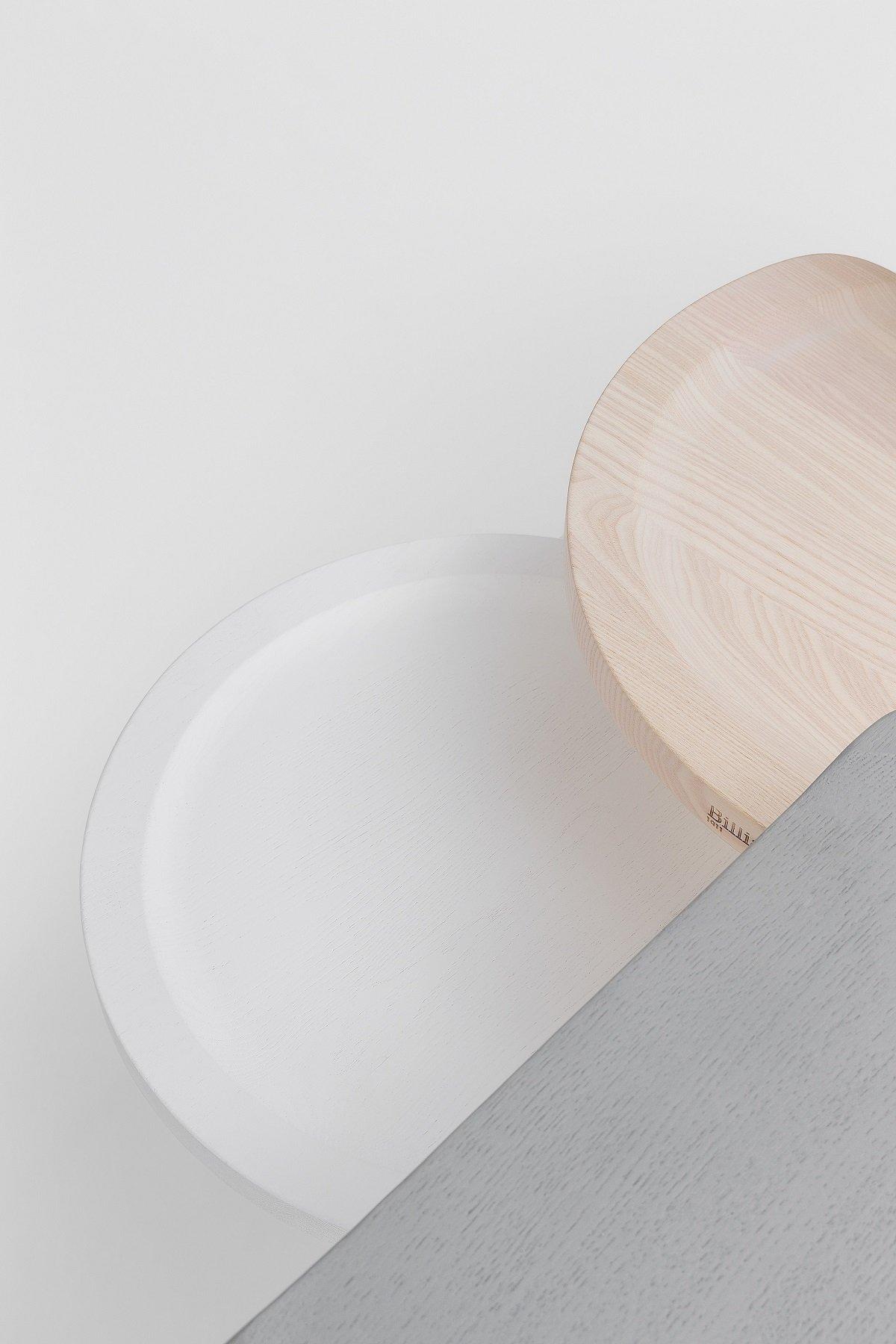 Puccio Stool from Billiani, designed by Emilio Nanni