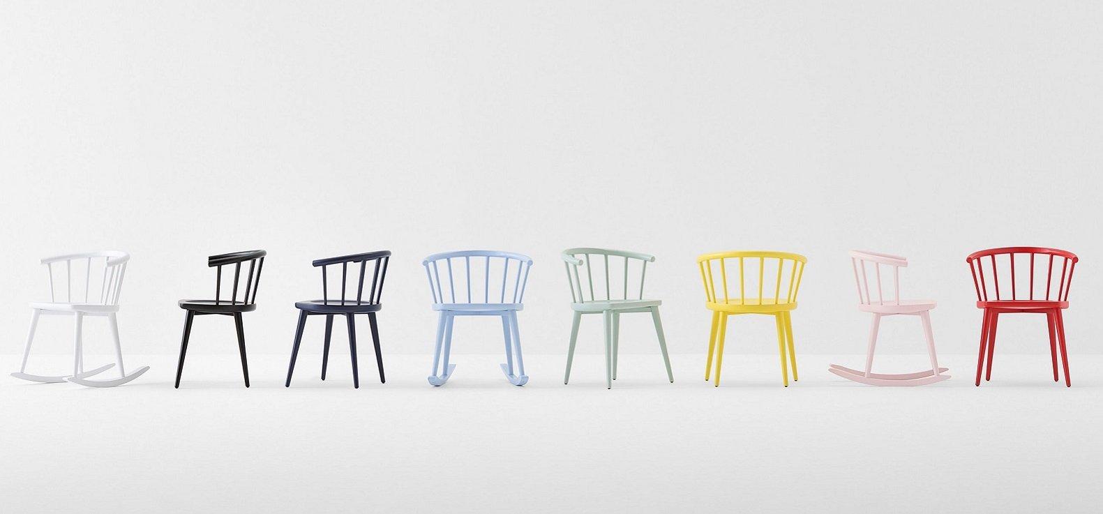 W Chair from Billiani, designed by Fabrizio Gallinaro