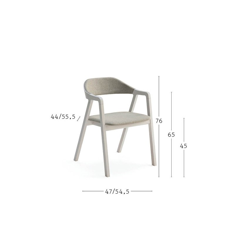 Layer Dining Chair from Billiani