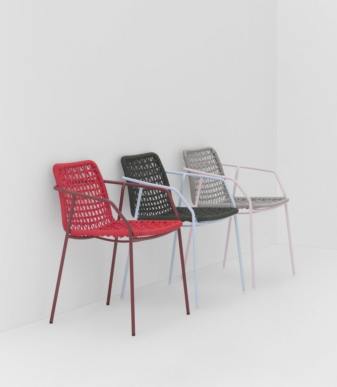 Sey Armchair from Billiani, designed by Emilio Nanni