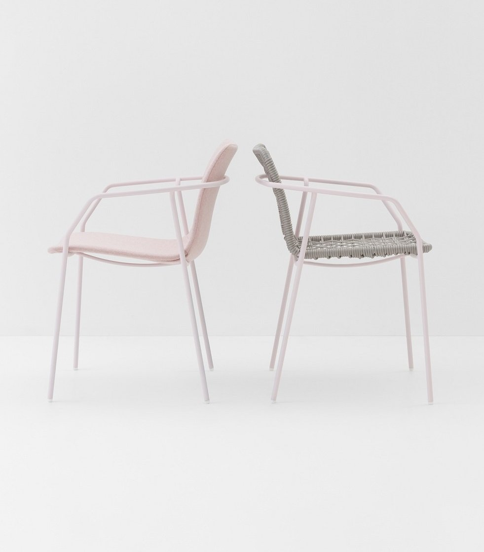 Sey Armchair from Billiani, designed by Emilio Nanni