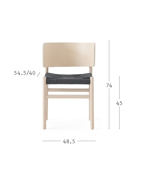 Fratina Dining Chair from Billiani, designed by Emilio Nanni