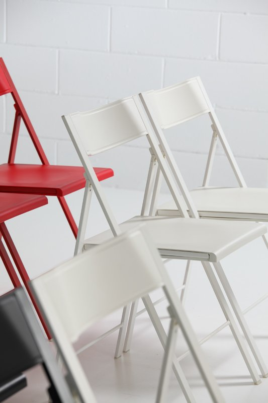 Pocket Plastic Chair from Arrmet, designed by Francesca Petricich