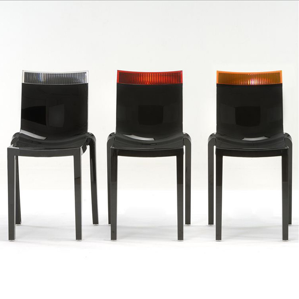 Hi Cut chair from Kartell, designed by Philippe Starck
