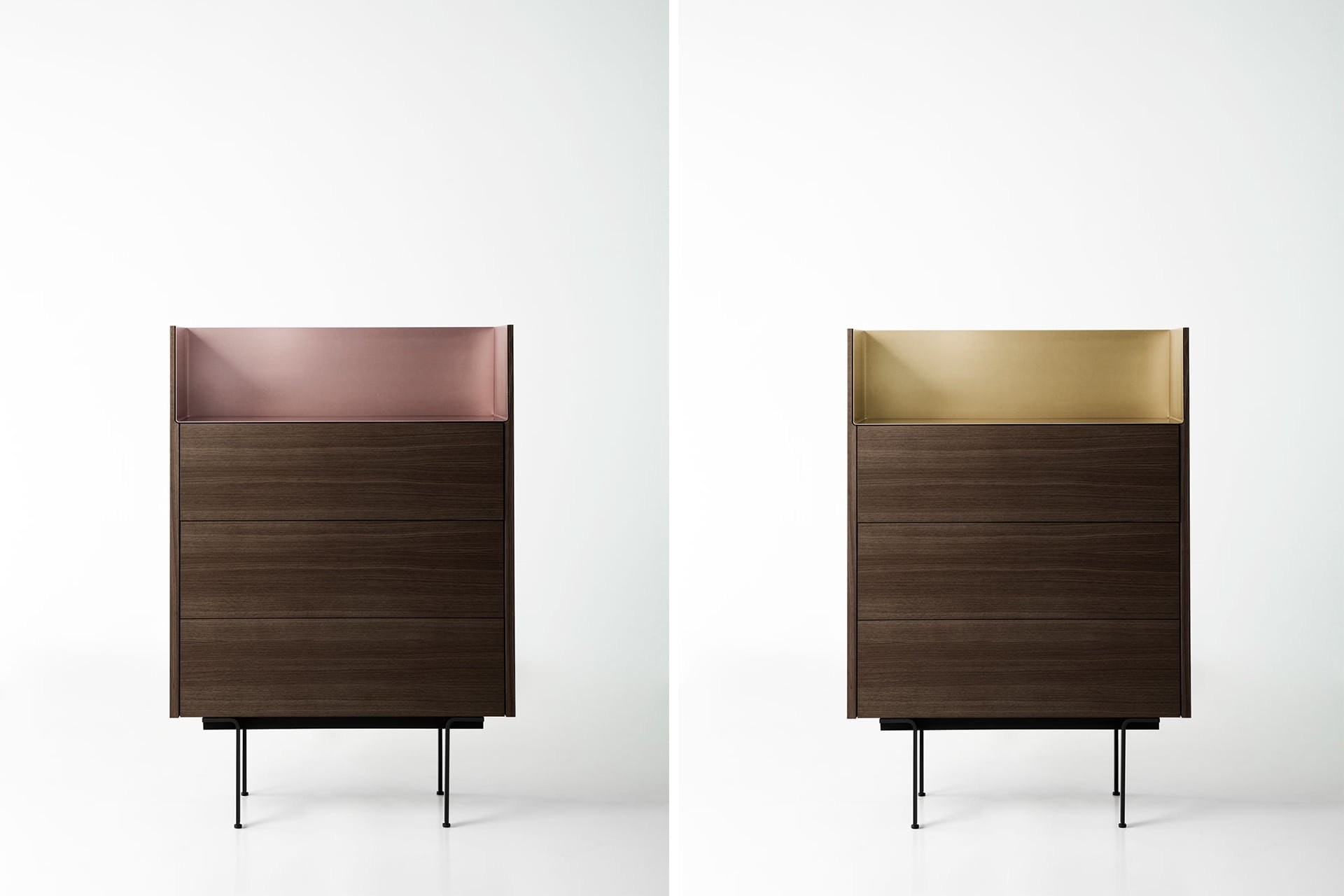 Stockholm Chests of Drawers cabinet from Punt Mobles