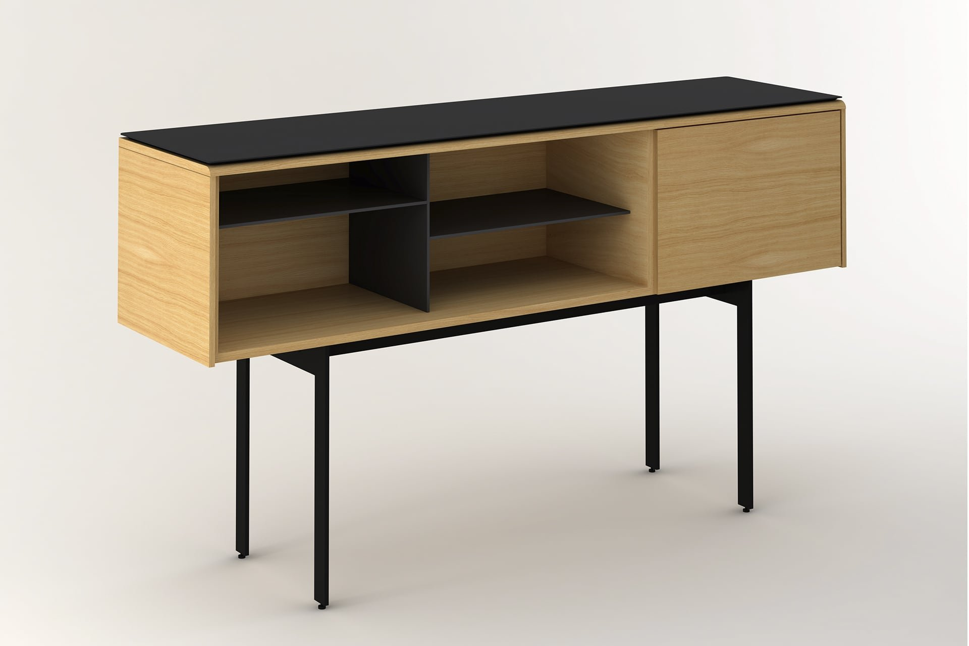 Malmo Sideboard cabinet from Punt Mobles, designed by Mario Ruiz