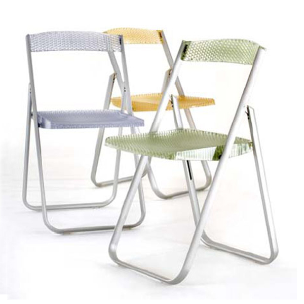 Honeycomb chair from Kartell, designed by Alberto Meda