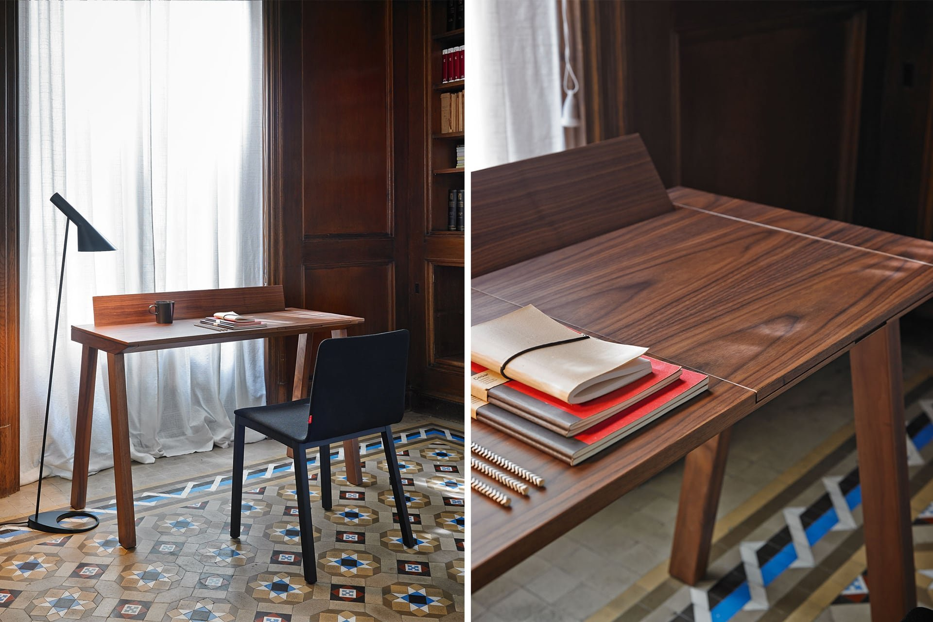 Ernest Desk from Punt Mobles, designed by Borja Garcia