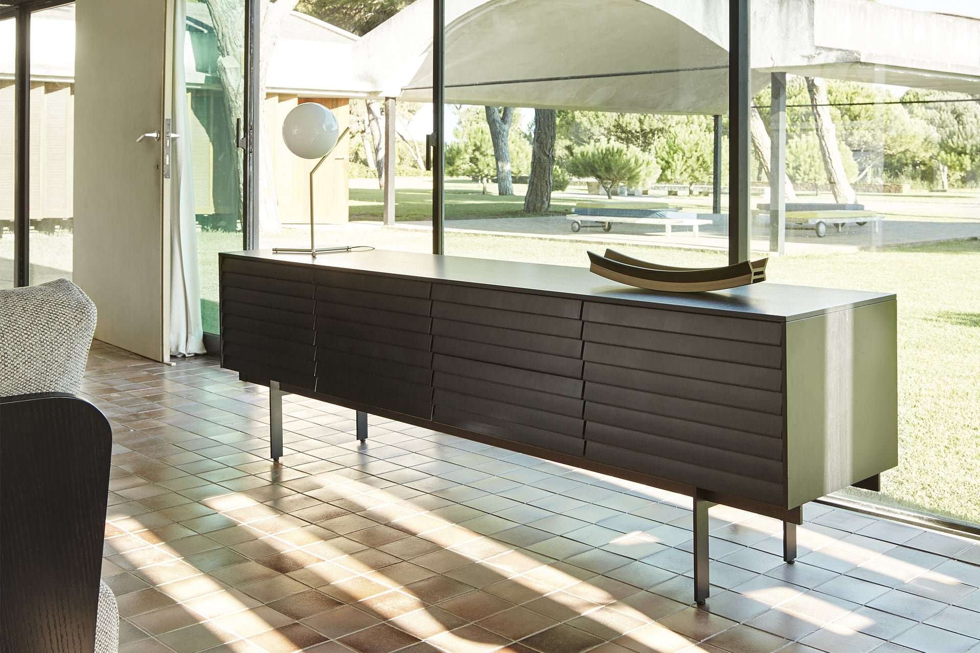 Sussex Sideboard cabinet from Punt Mobles, designed by Terence Woodgate