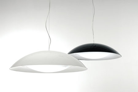 Neutra lighting from Kartell, designed by Ferruccio Laviani