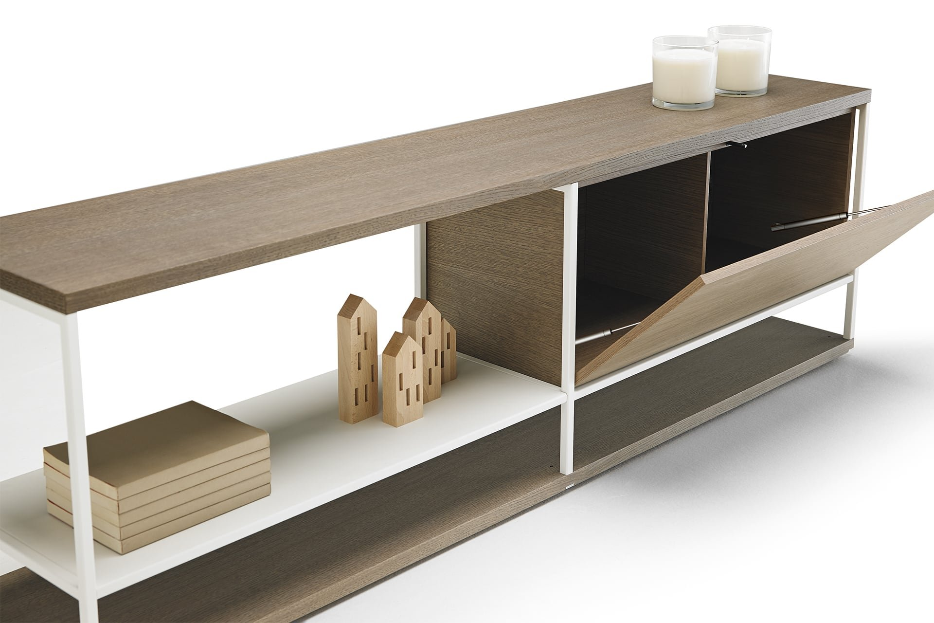 Literatura Open Sideboard cabinet from Punt Mobles