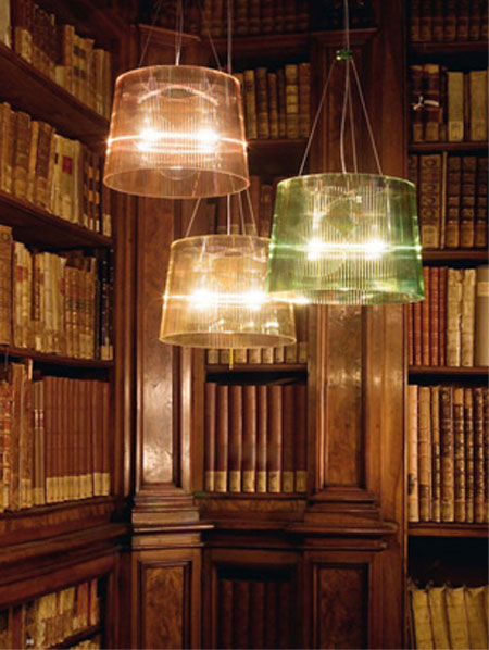 Ge lighting from Kartell, designed by Ferruccio Laviani