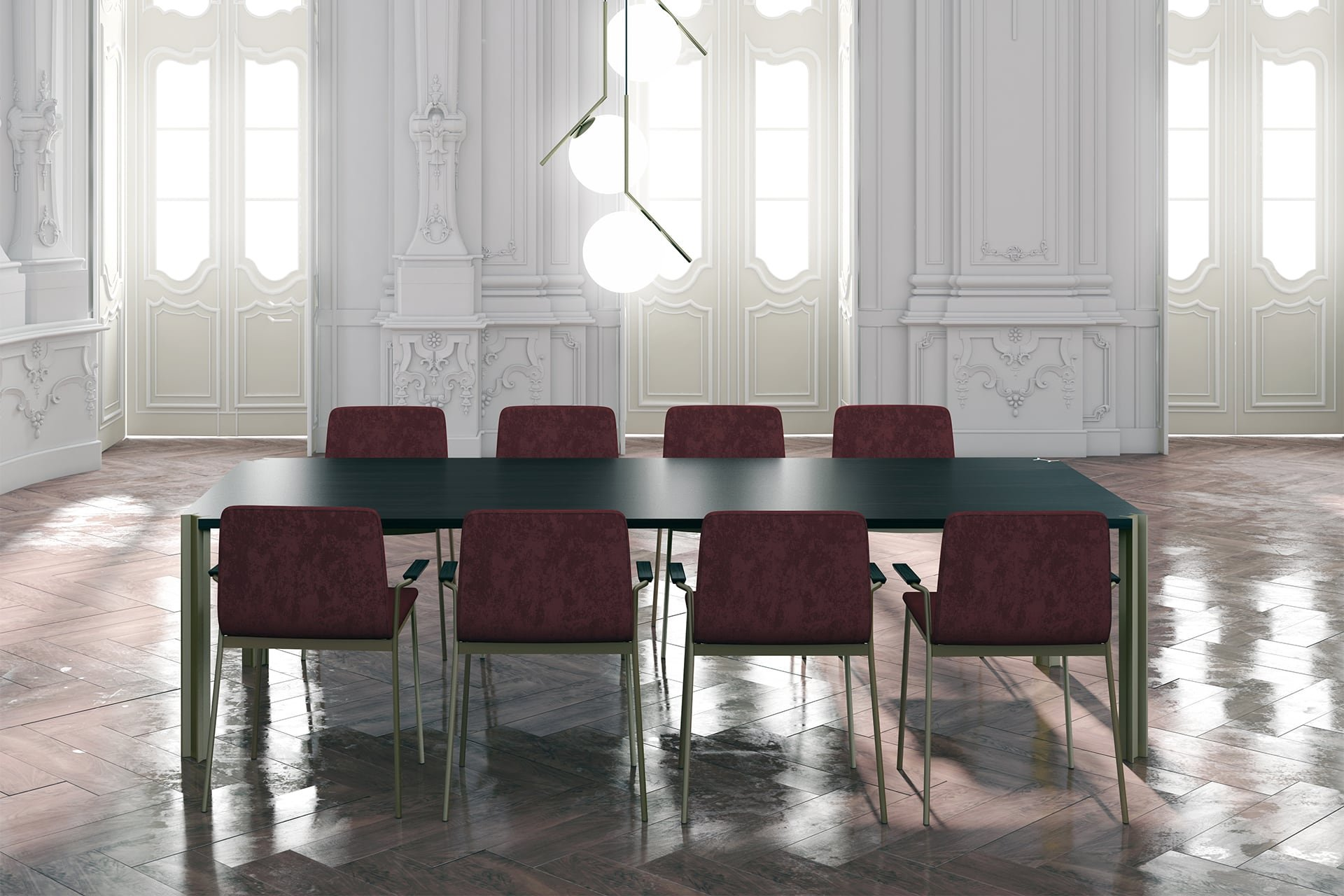 Crossing Dining Table from Punt Mobles