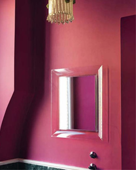 Francois Ghost mirror from Kartell, designed by Philippe Starck