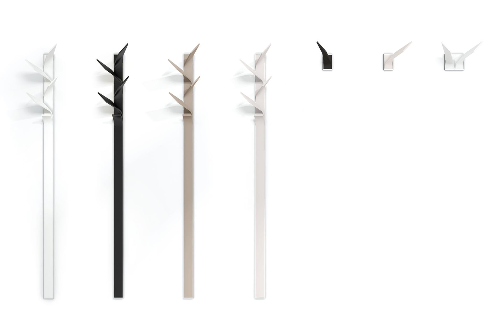 Elx Coat Hanger accessory from Punt Mobles, designed by Vicent Martinez