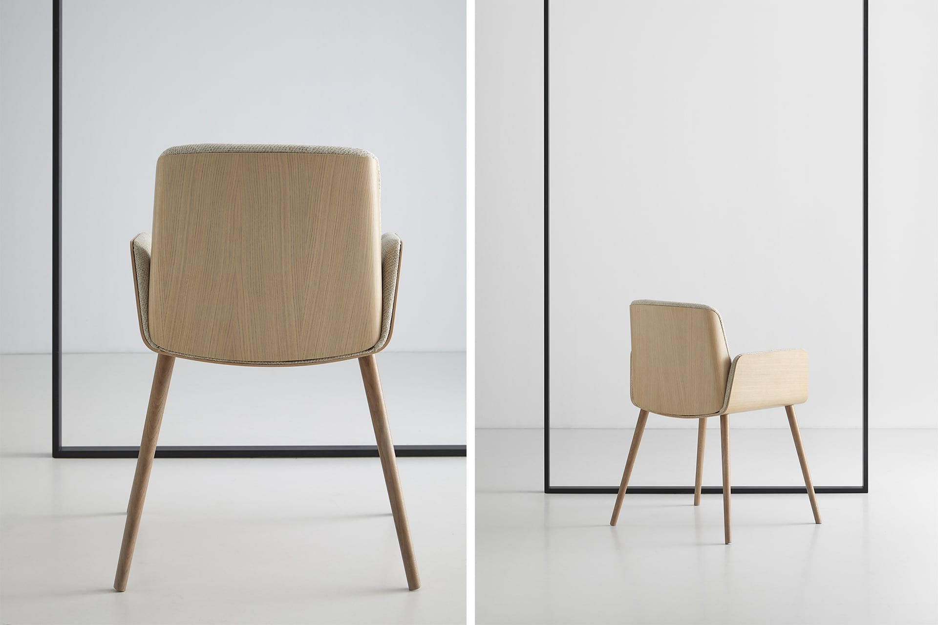 Hug Dining Chair  from Punt Mobles, designed by Manel Molina