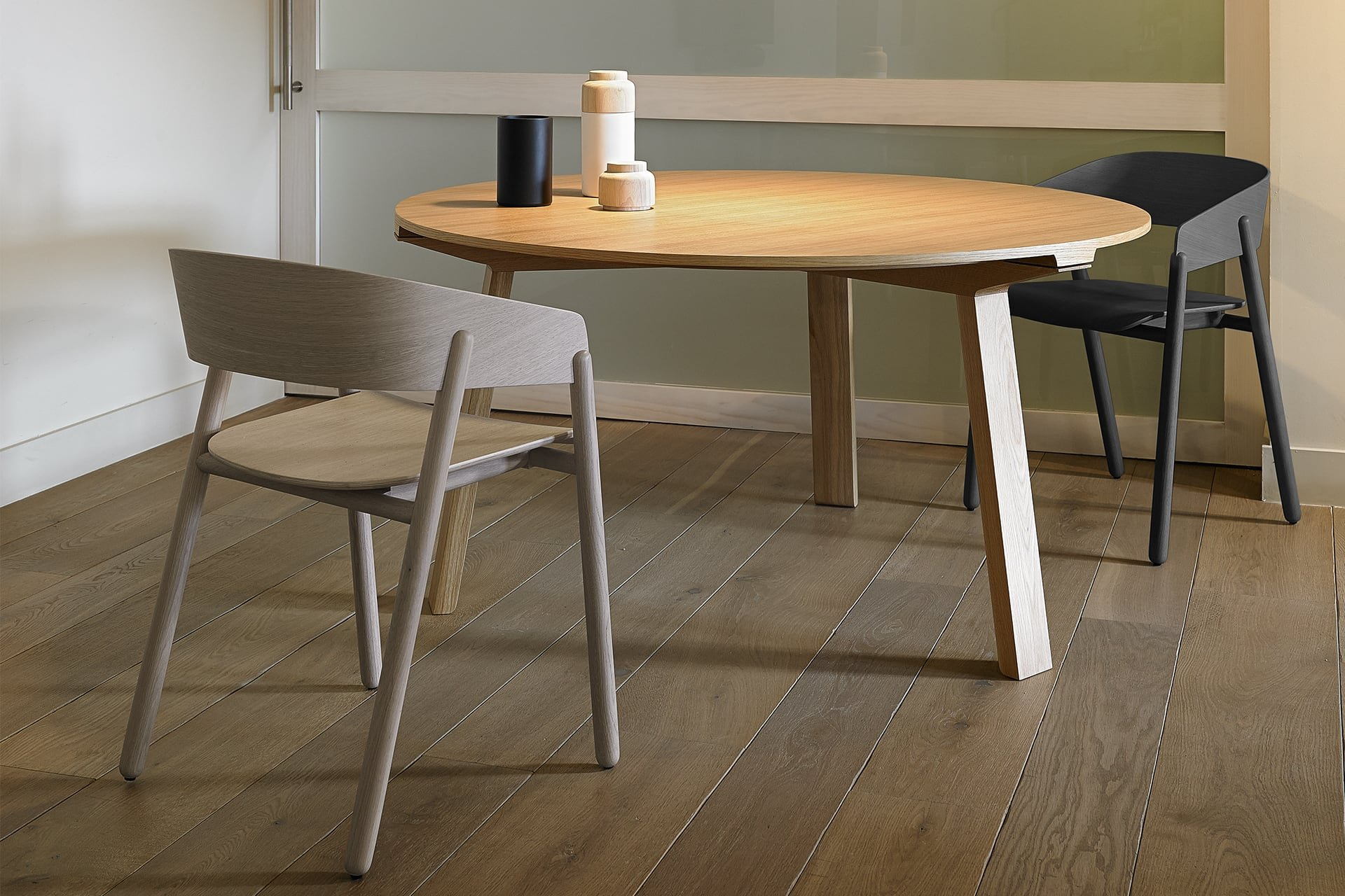 Mitis Wood Dining Table from Punt Mobles