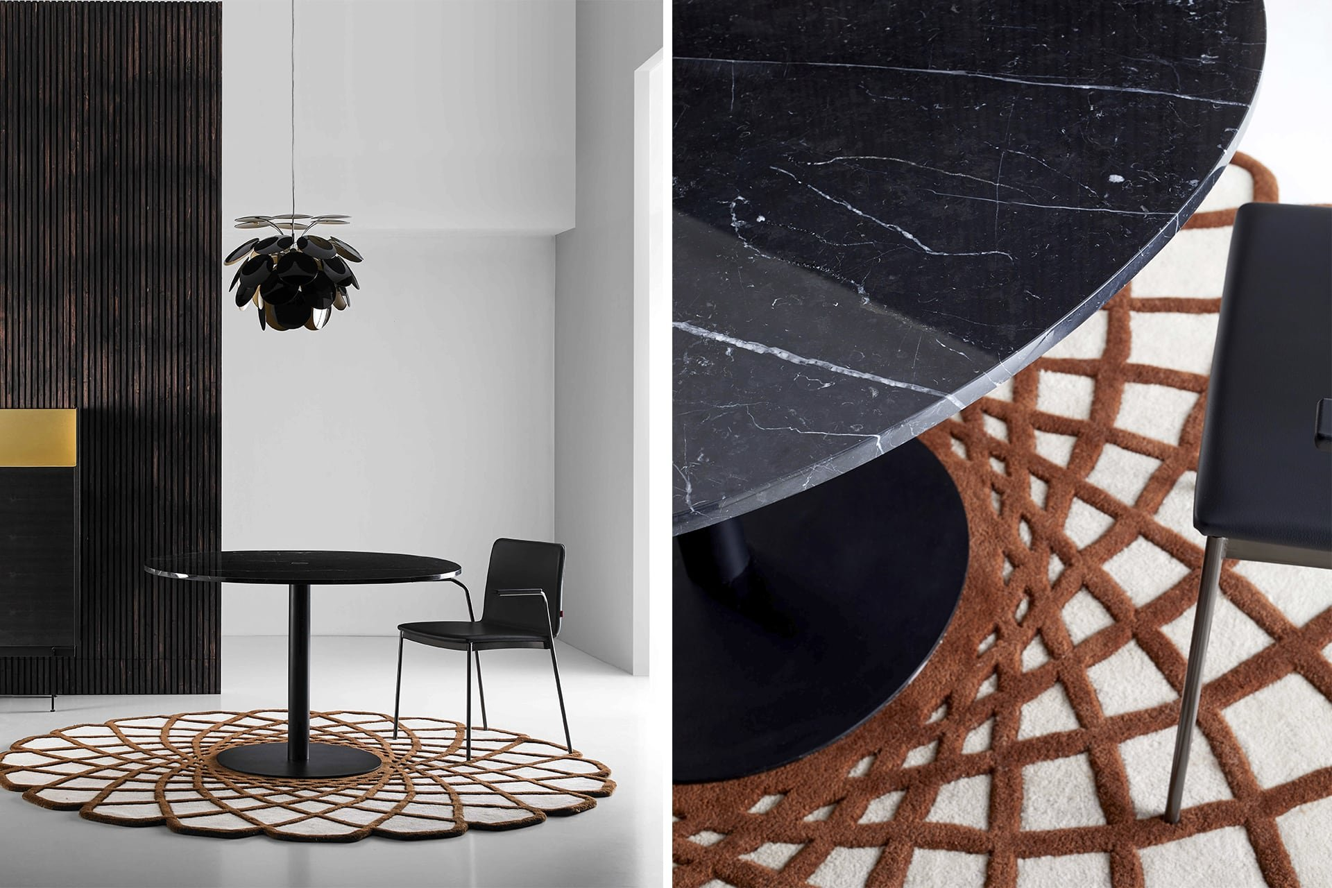 Nucleo Dining Table from Punt Mobles, designed by Victor Carrasco