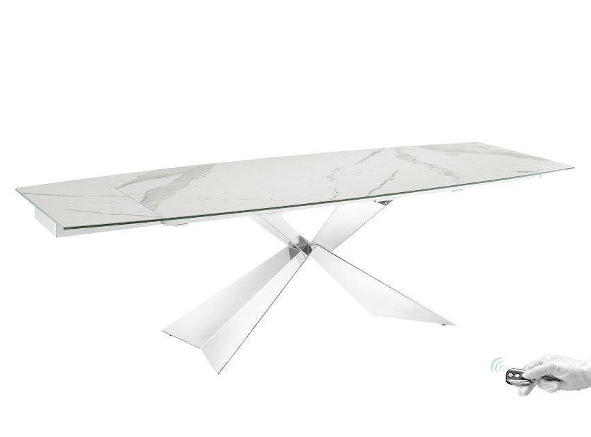 Carrara Marble Dining Table from Casabianca