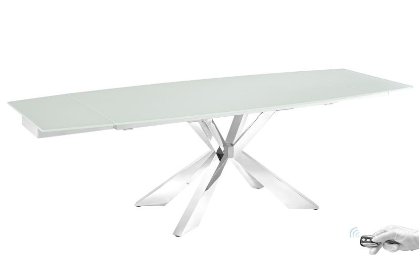 Icon Glass Dining Table from Casabianca