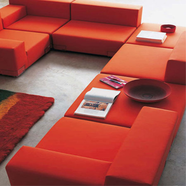 Plastics lounge chair from Kartell, designed by Piero Lissoni