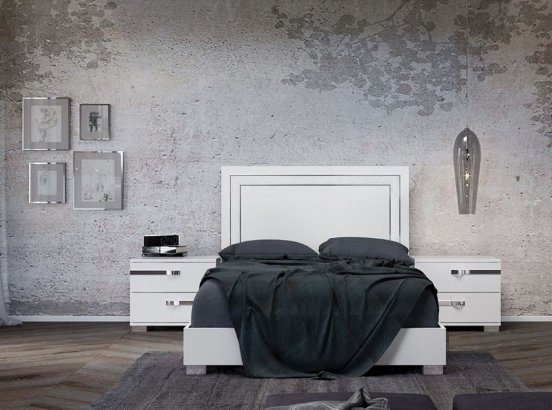 Wave King Size Bed from Casabianca