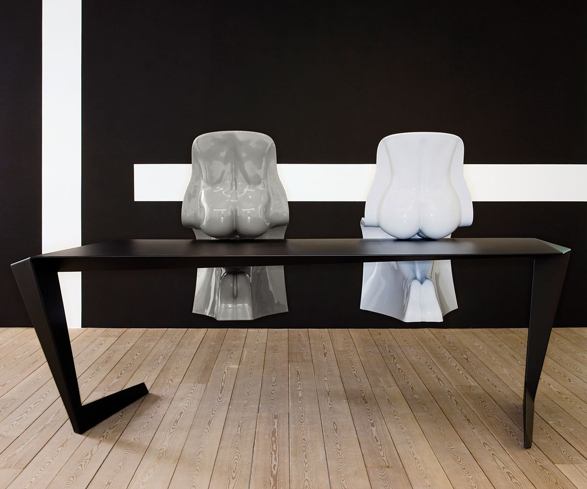 Him & Hers Chairs from Casamania, designed by Fabio Novembre