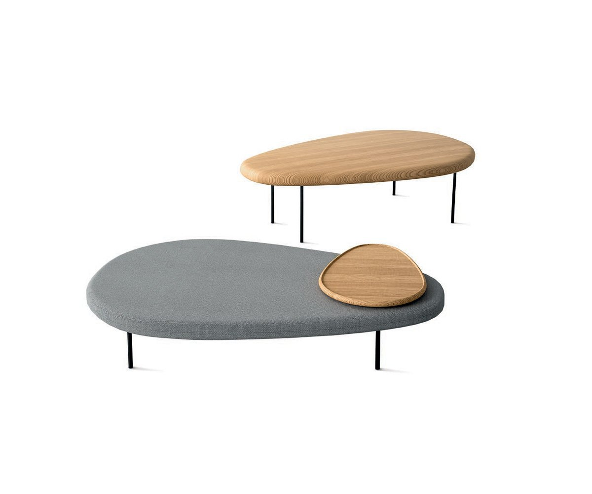 Lily Wood Table coffee from Casamania, designed by Marc Thorpe