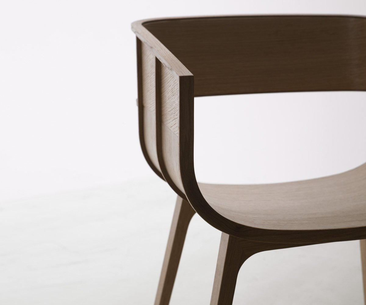 Maritime Wood Chair from Casamania, designed by Benjamin Hubert