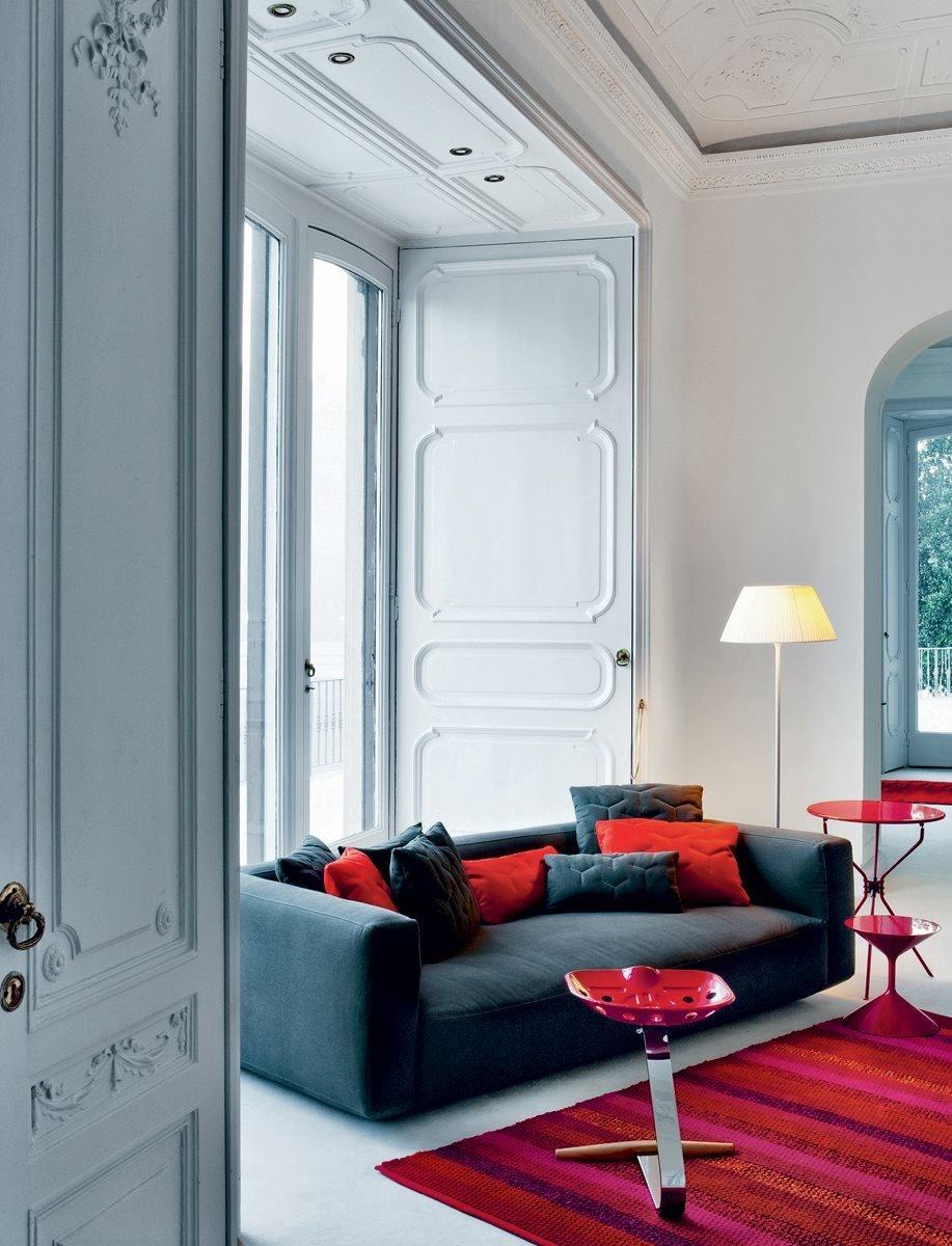 Mezzadro Stool from Zanotta, designed by Achille + Pier Giacomo Castiglioni