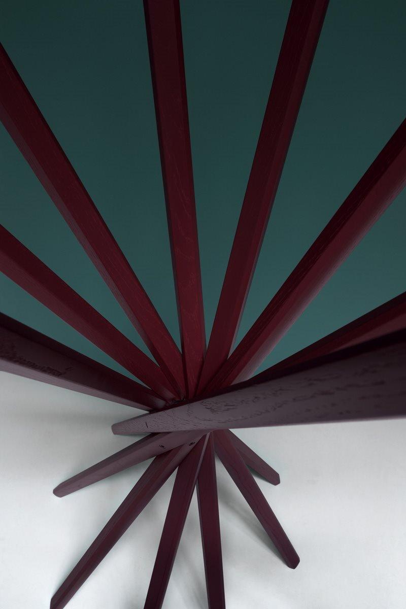 Sciangai Folding Clothes Stand accessory from Zanotta