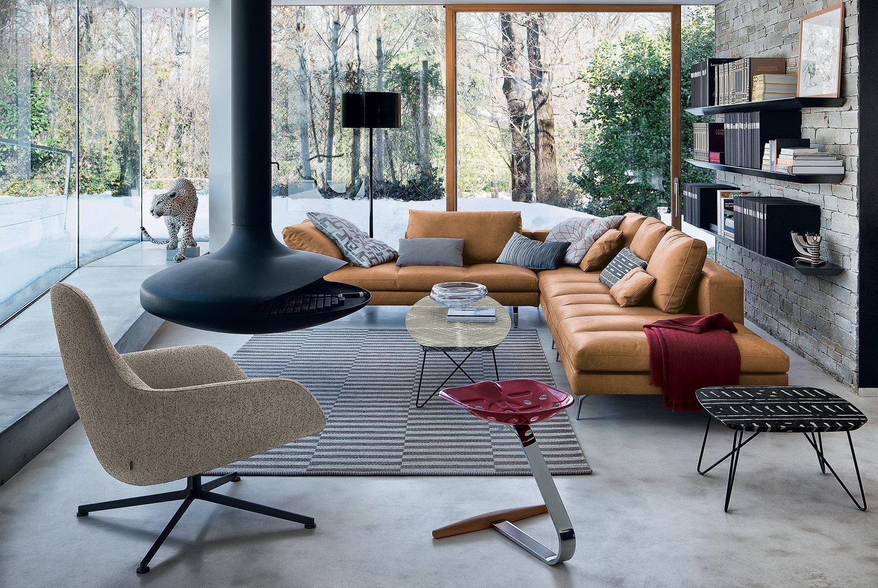 Bruce Sofa modular from Zanotta