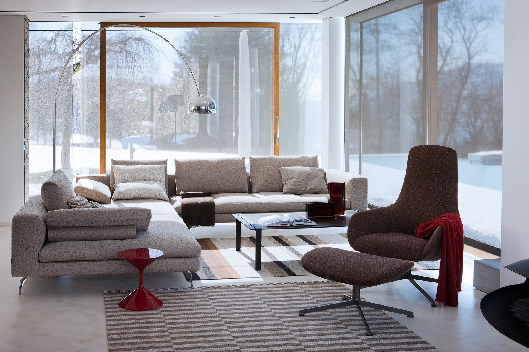 Bruce Sofa modular from Zanotta, designed by Ludovica