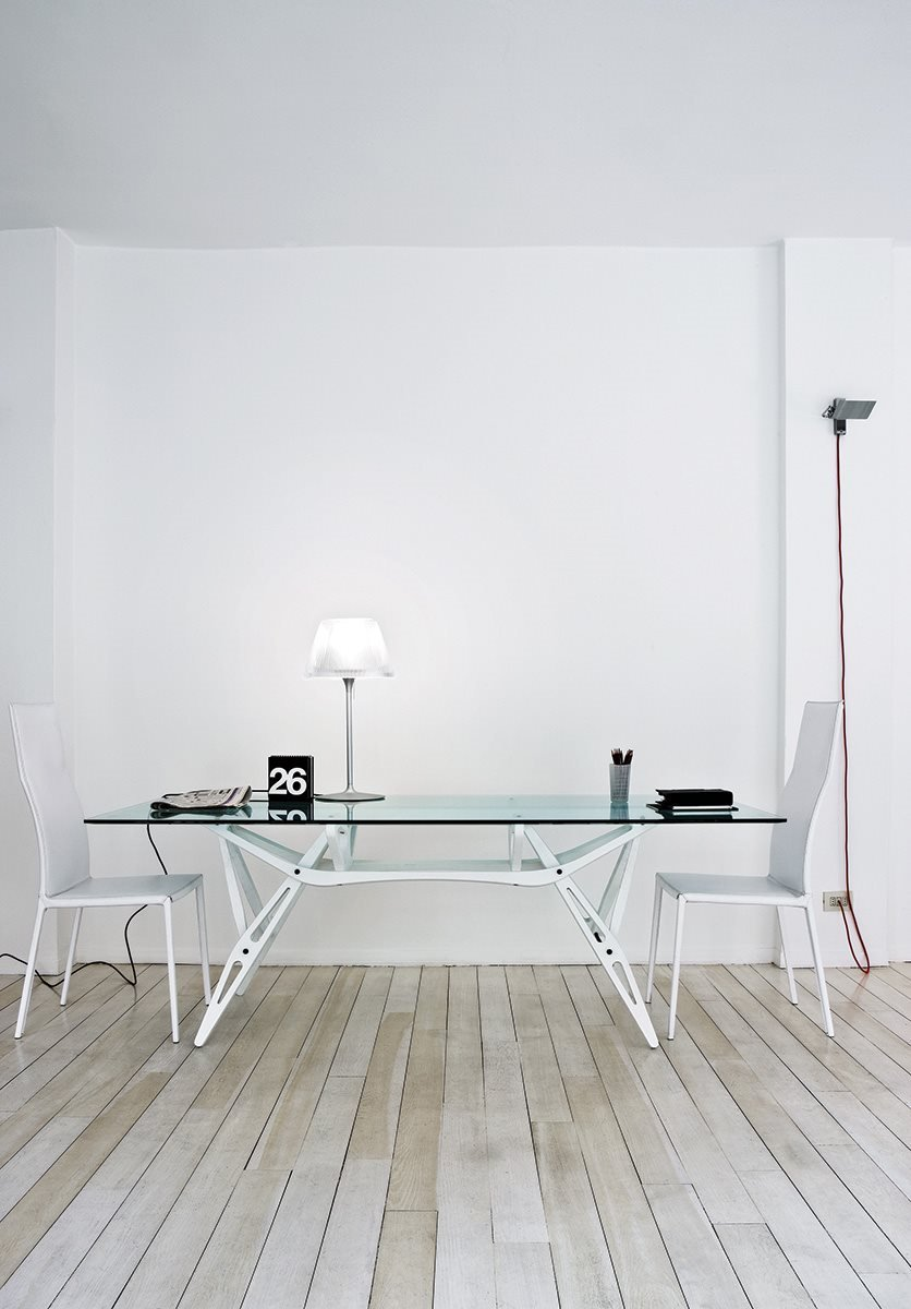 Reale Dining Table from Zanotta, designed by Carlo Mollino
