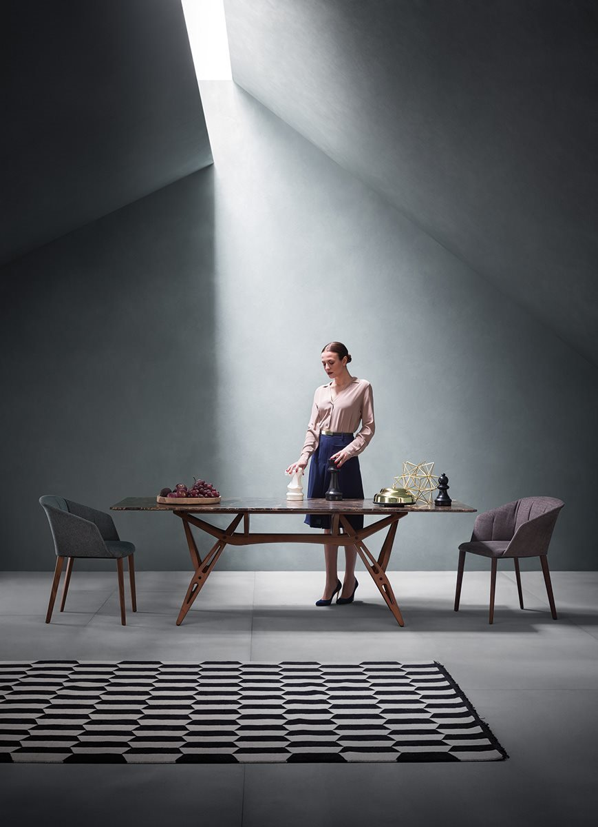 Reale Dining Table from Zanotta