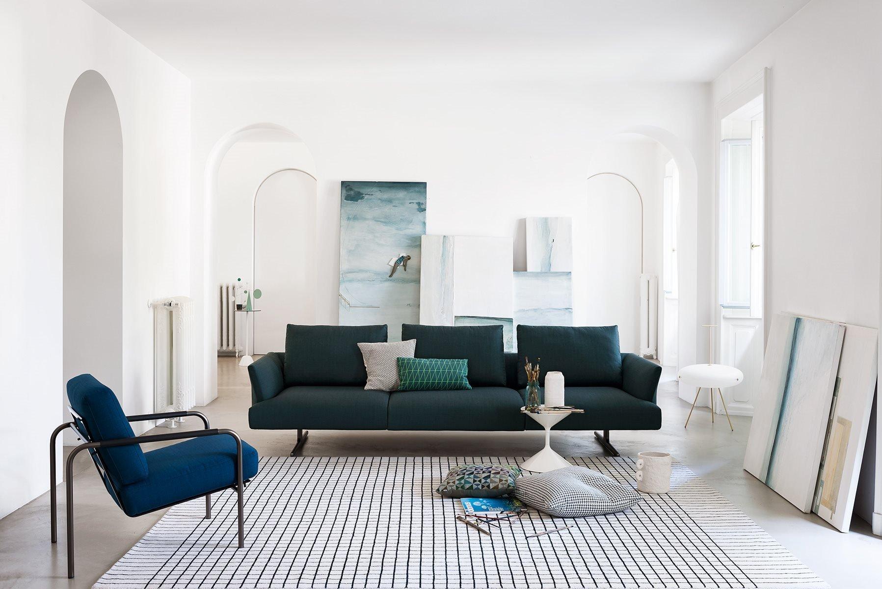 Hiro Sofa modular from Zanotta, designed by Damian Williamson