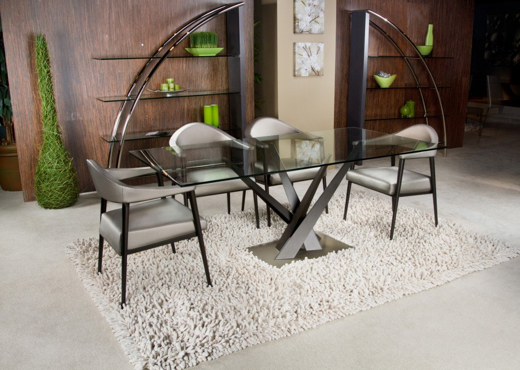 Crystal Dining Table from Elite Modern, designed by Carl Muller