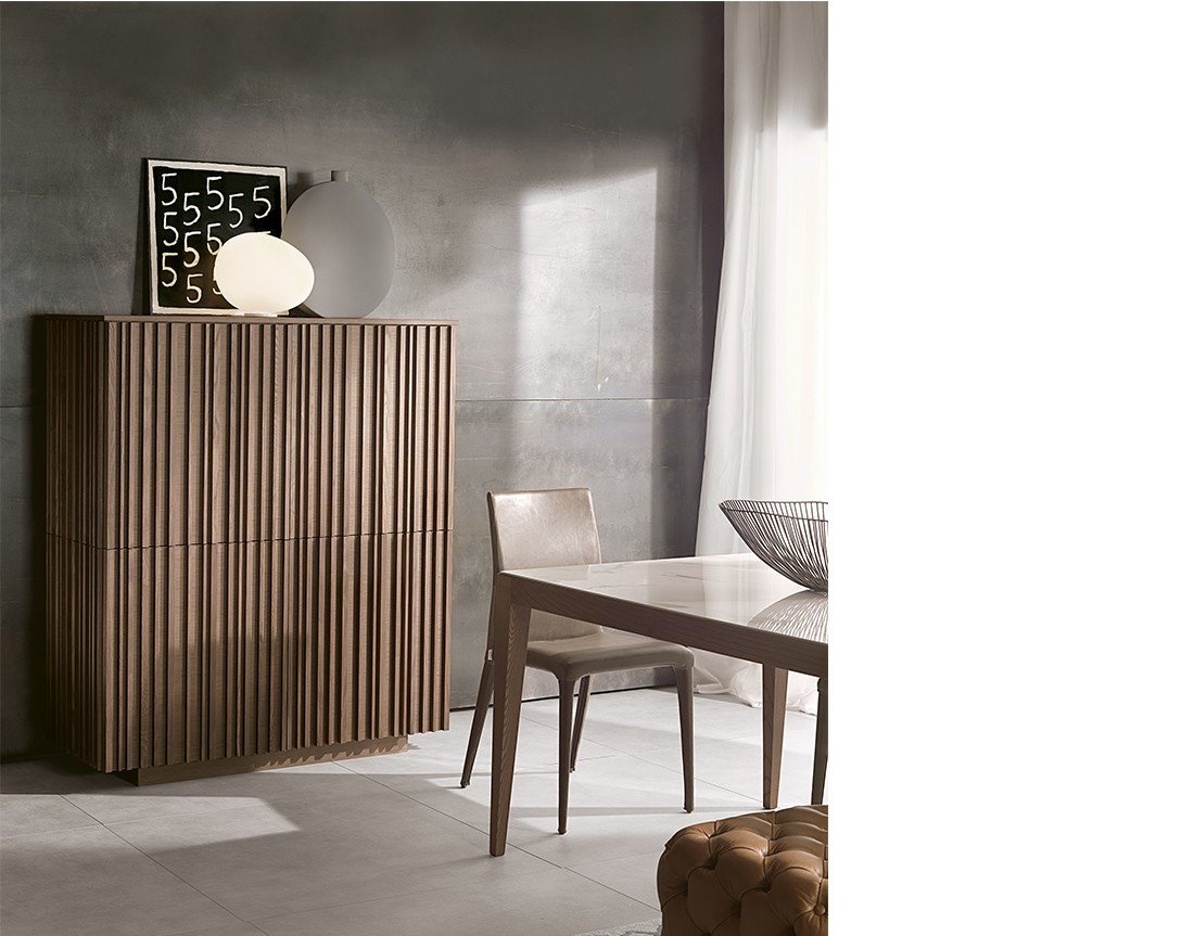 Line Cupboard cabinet from Pacini & Cappellini