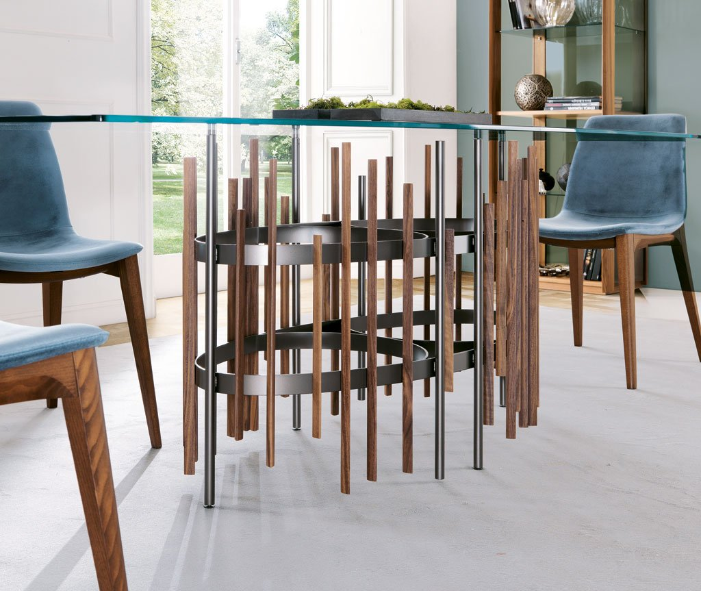 Tube Dining Table from Pacini & Cappellini