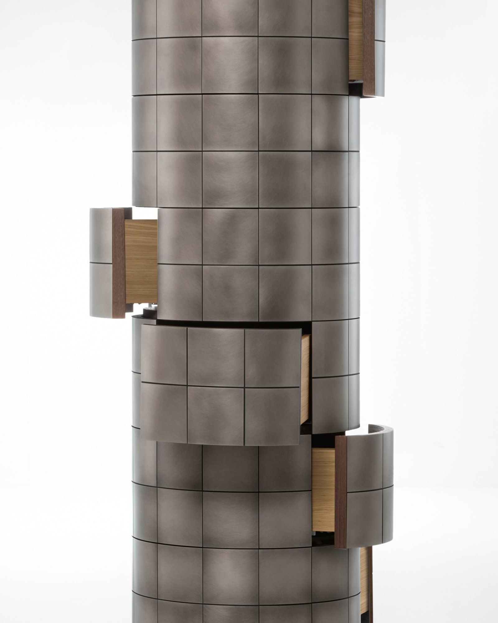 Pandora Cabinets from De Castelli, designed by Martinelli Venezia