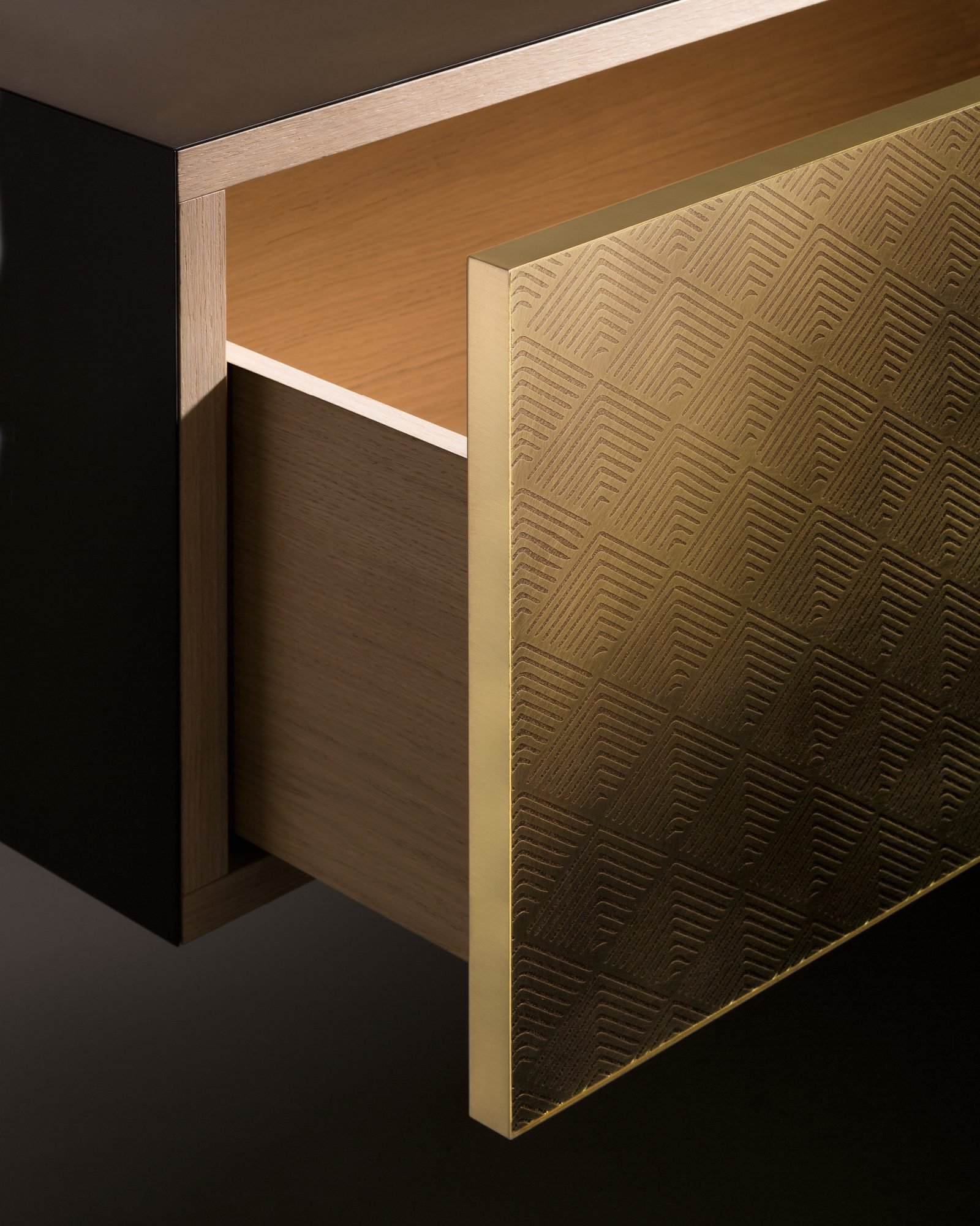 Tako Cabinets from De Castelli, designed by Filippo Pisan