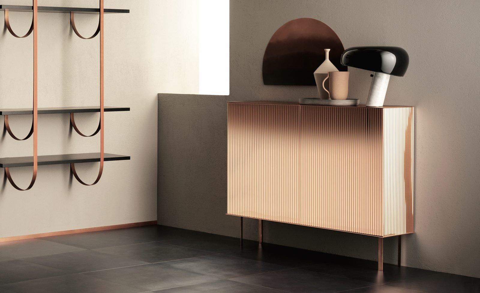 Elizabeth Cabinets from De Castelli, designed by Nathalie Dewez
