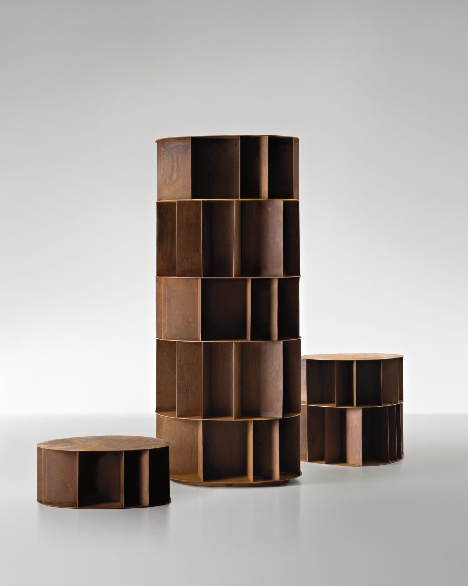 Existence Bookcase from De Castelli, designed by Michele DeLucchi