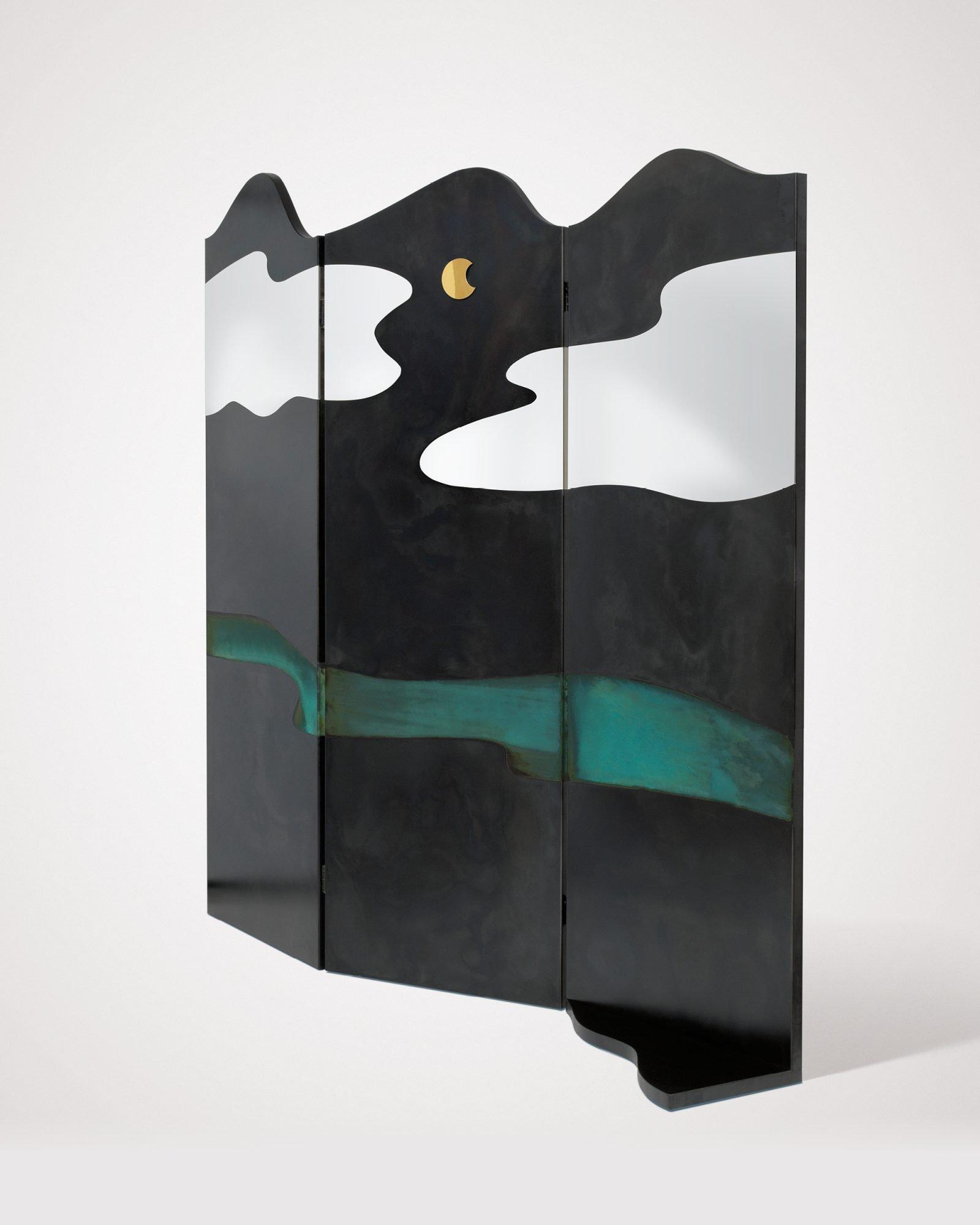 Painting Curtain art from De Castelli, designed by Alessandra Baldereschi