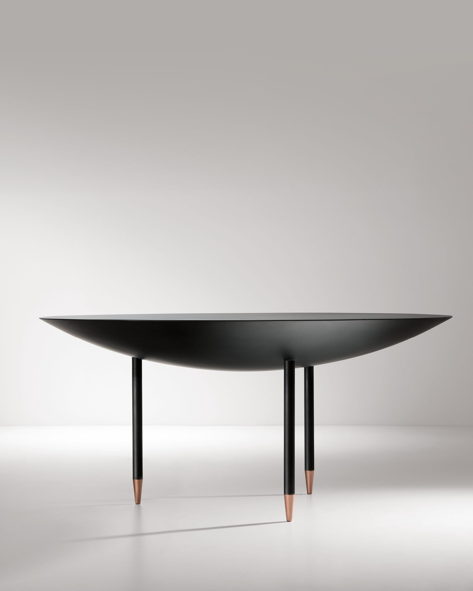 Roma Table  from De Castelli, designed by Minelli Fossati