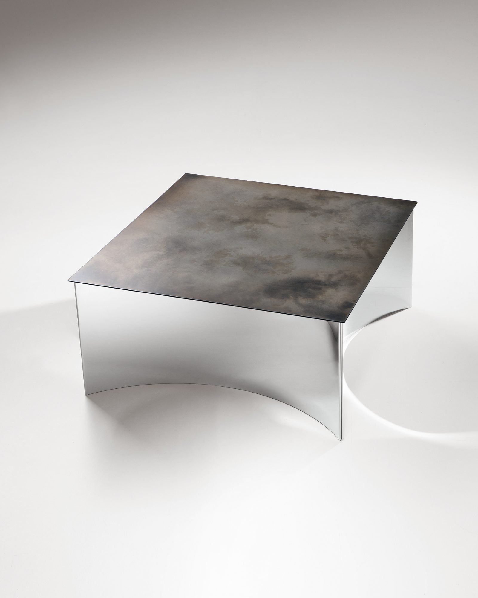 Alchemy Table end from De Castelli, designed by Stormo Studio