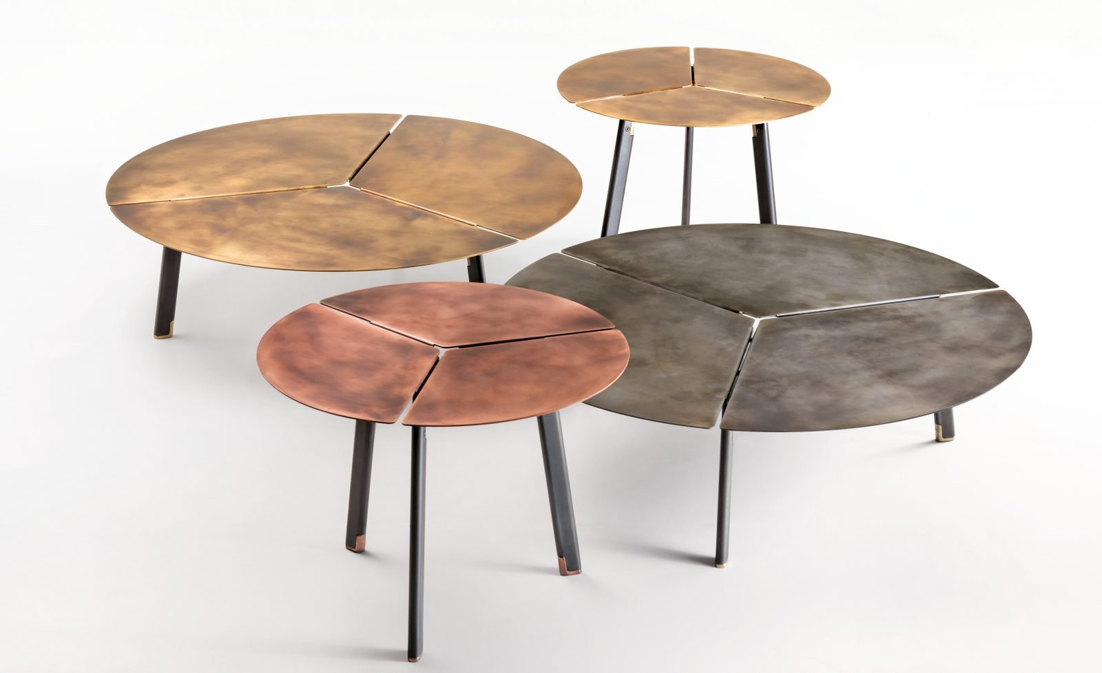 Placas Table coffee from De Castelli, designed by Lucidipevere