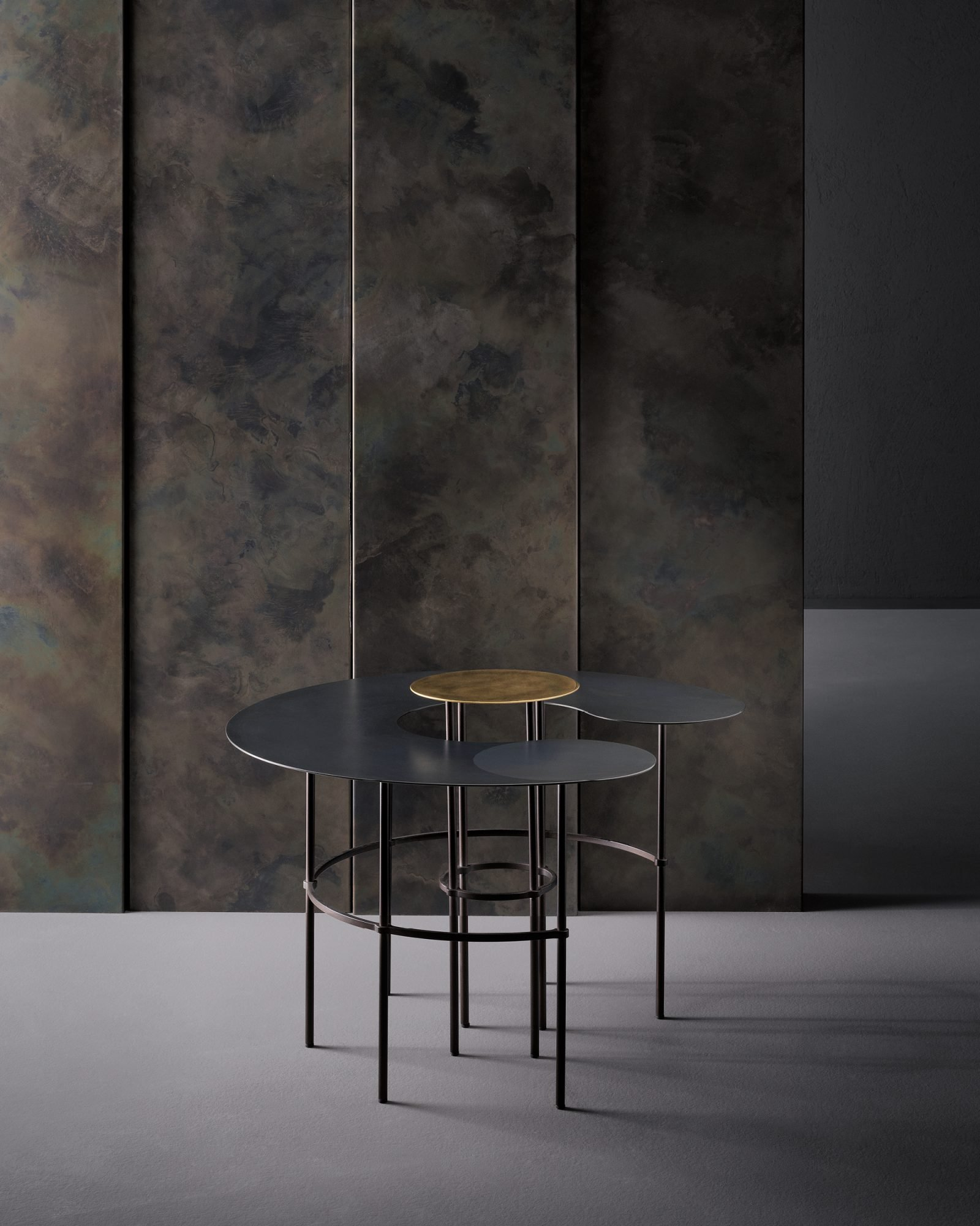 Scribble Table console from De Castelli