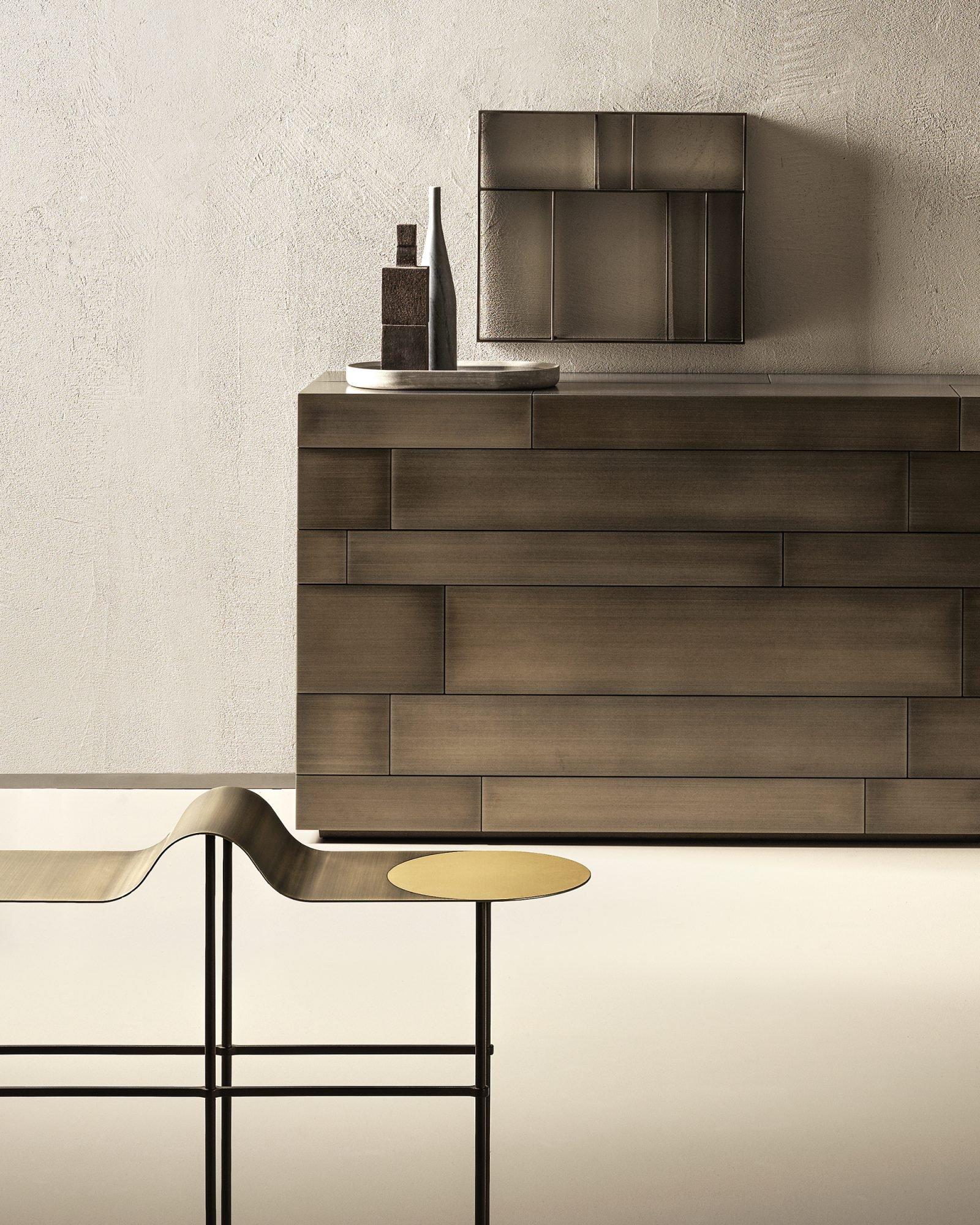 Scribble Table console from De Castelli, designed by Francesca Lanzavecchia