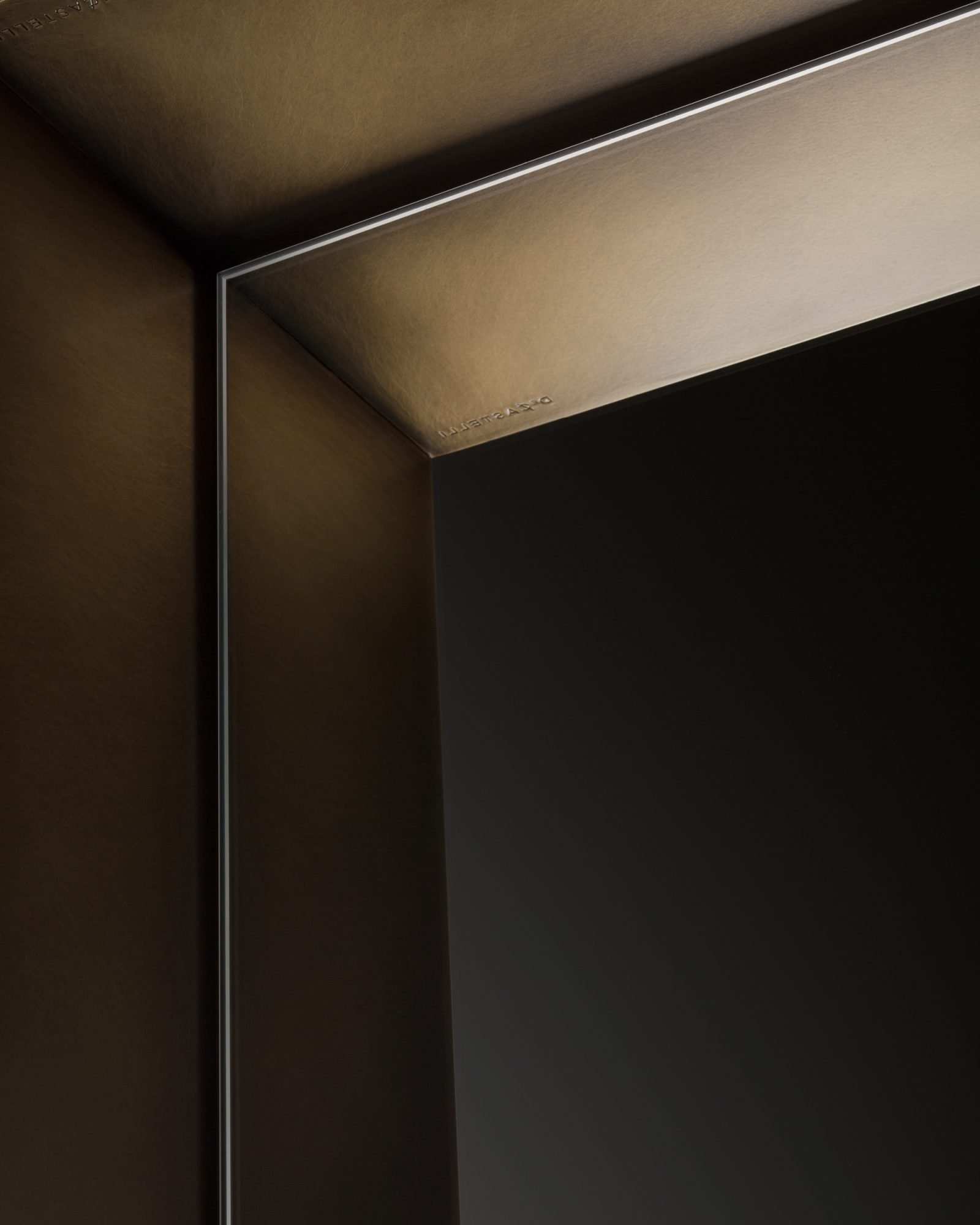 Frame Mirror from De Castelli, designed by Antonella Tesei